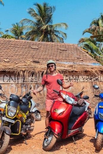 Goa biker,me ofcourse