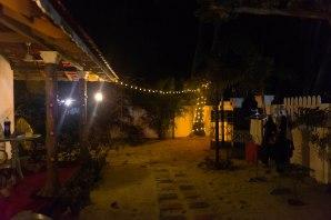 backyard of our home at Marrari beach